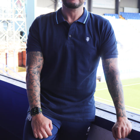 Grey TRFC Polo Shirt