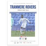 Tranmere Rovers vs Port Vale 2020/21 Programme