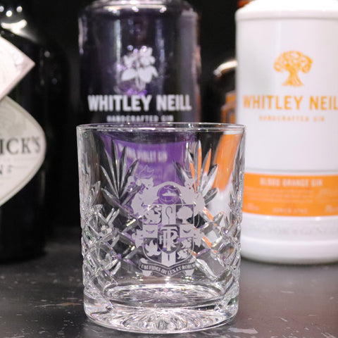 TRFC Whisky Glass