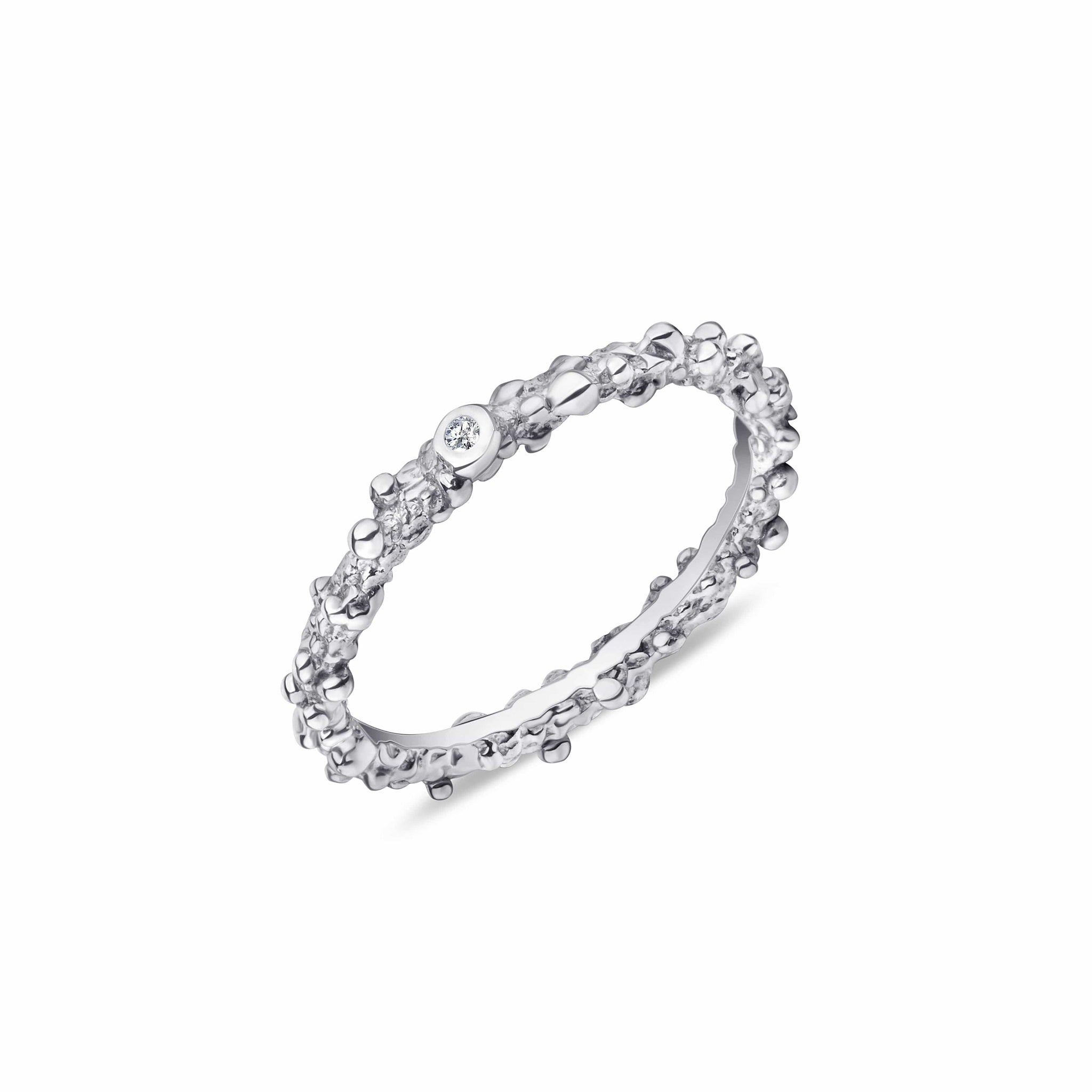Fizz Silver Ring