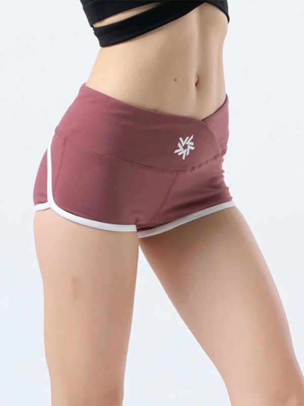 Printed Casual Yoga Tapered Sports Shorts