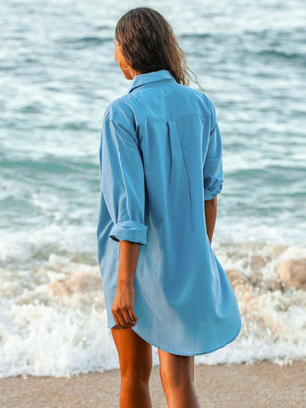 Simple and Comfortable Beach Bikini Cover-Ups