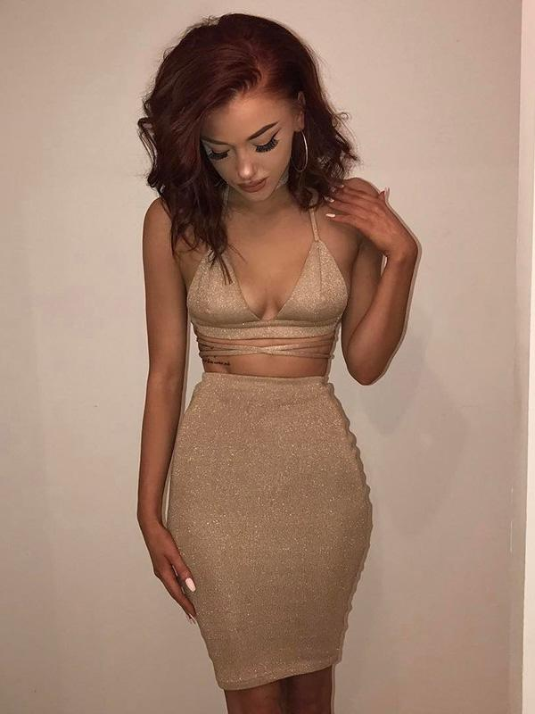 5 Colors Bandage Bodycon Midi Dress