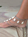 Pretty Shell Tassels Footchain Accessories