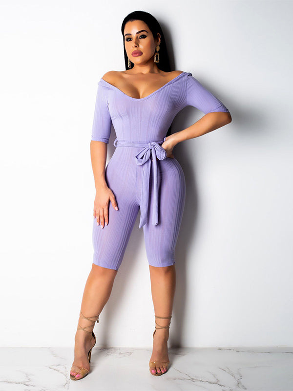 Sexy 4 Colors Short Jumpsuits