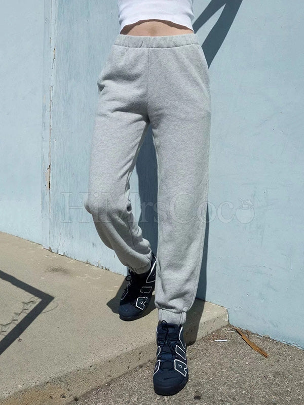 Solid Empire Elasticity Athletic Pants
