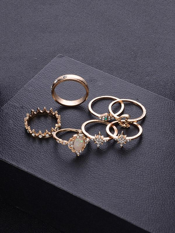 Stars Crystal Ring Accessories