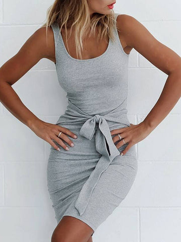 V-neck Elastic Long Sleeves Jumpsuits