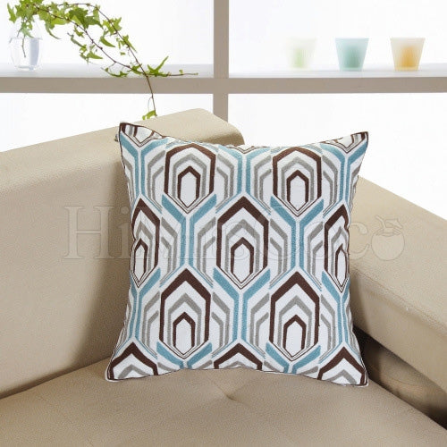 Printed Square Pillow Case