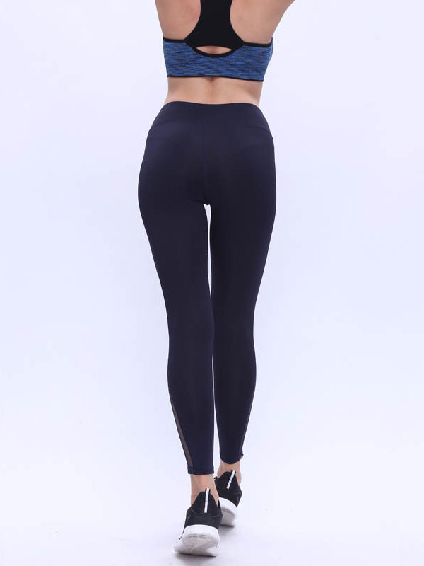 Mesh Padded Yoga Leggings