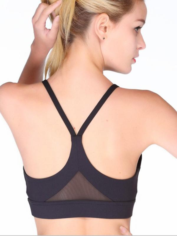 Sexy Hollow Solid Yoga Tanks