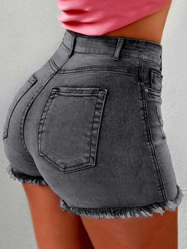 Sexy 4 Colors Jeans Shorts