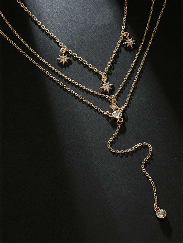 Sparkling Stars Necklace Accessories