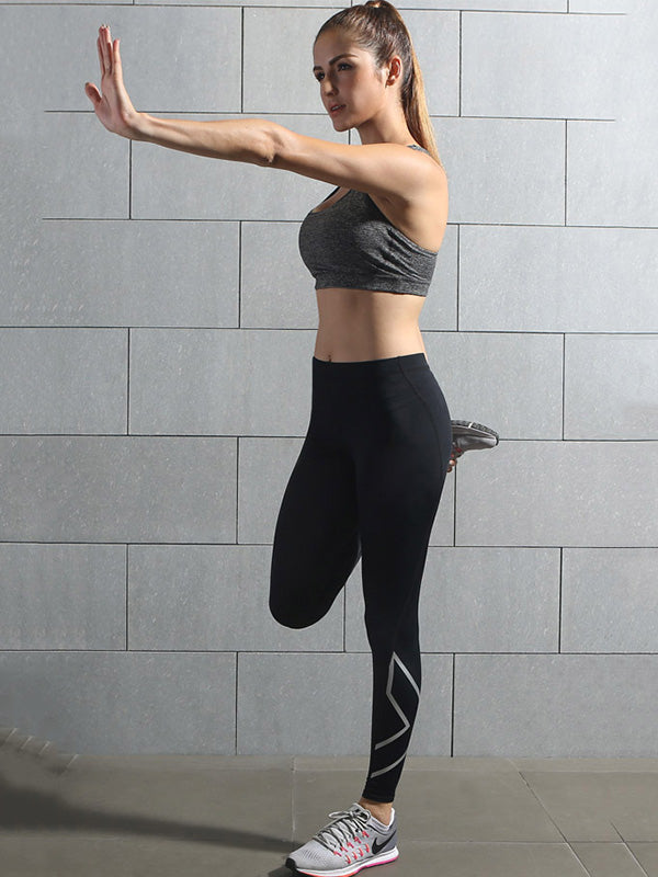 Quick-dry Elasticity Fitness Sports Leggings