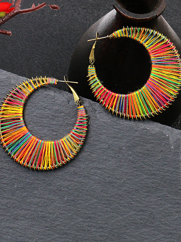 Fashion Hollow Vintage Earrings