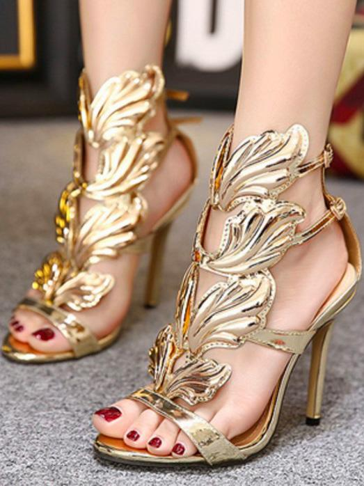 Fashion Wing High Heels