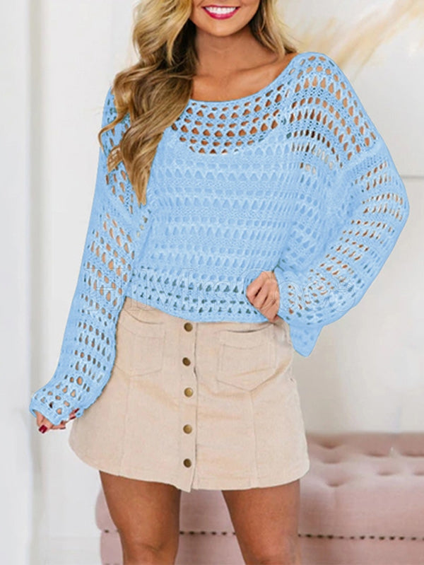 Fishing Net Hollow Sexy Sweater