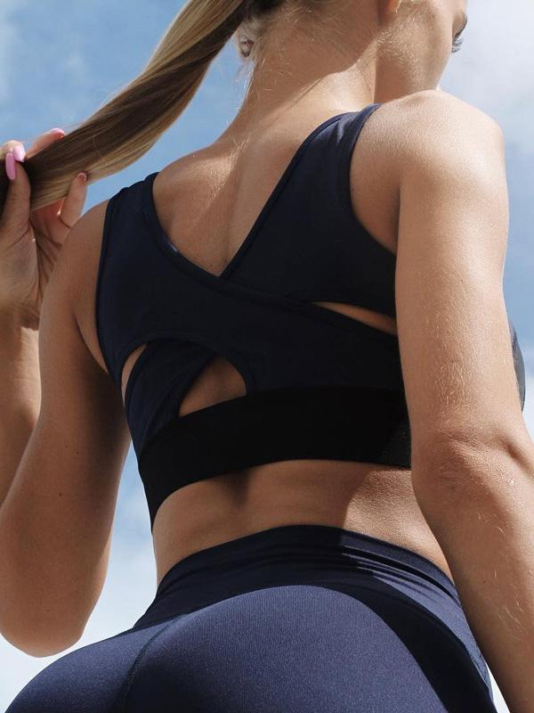 New Gym Yoga Vest without Underwire Shockproof Bra