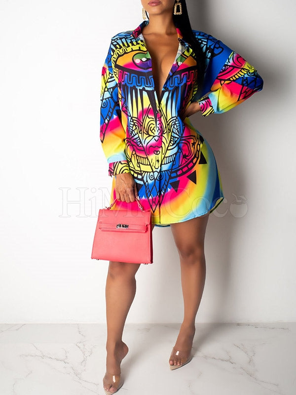 Printed Fashion Blouses&shirts Tops