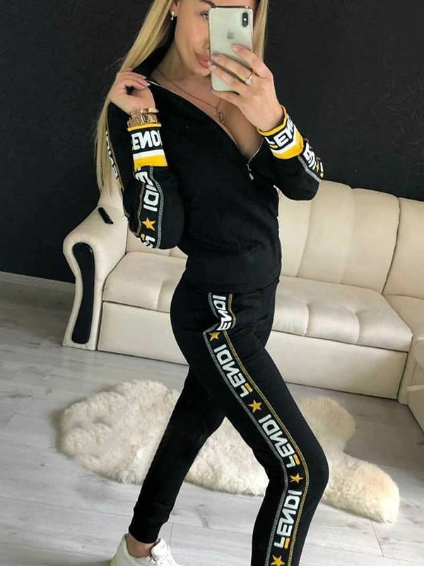Fashion Casual Printed Suits
