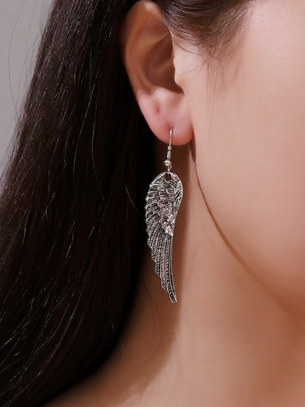Vintage Fashion Wing Earrings
