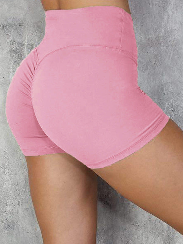 Fitness Quick-dry High Waist Sports Shorts