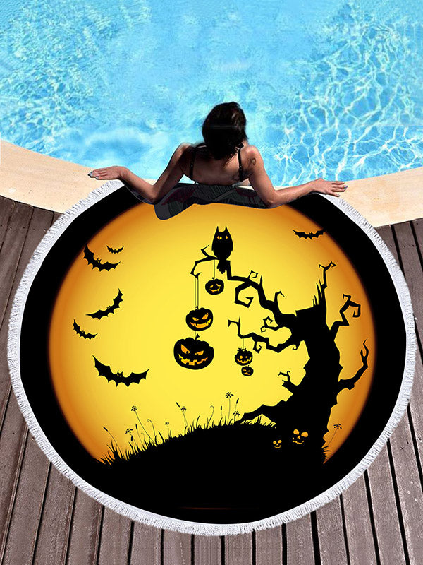 Halloween Subject Printed Beach Mats