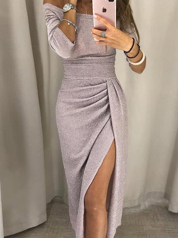 Sexy Crop Tops And Mini Dress Suits