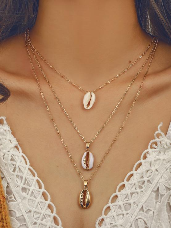 Bohemia Shell Necklaces Accessories