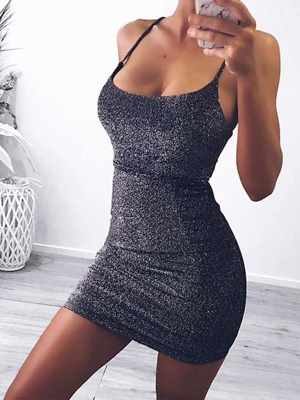 5 Colors Bodycon Sexy Mini Dress