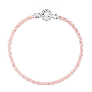 Blush Leather Bracelet