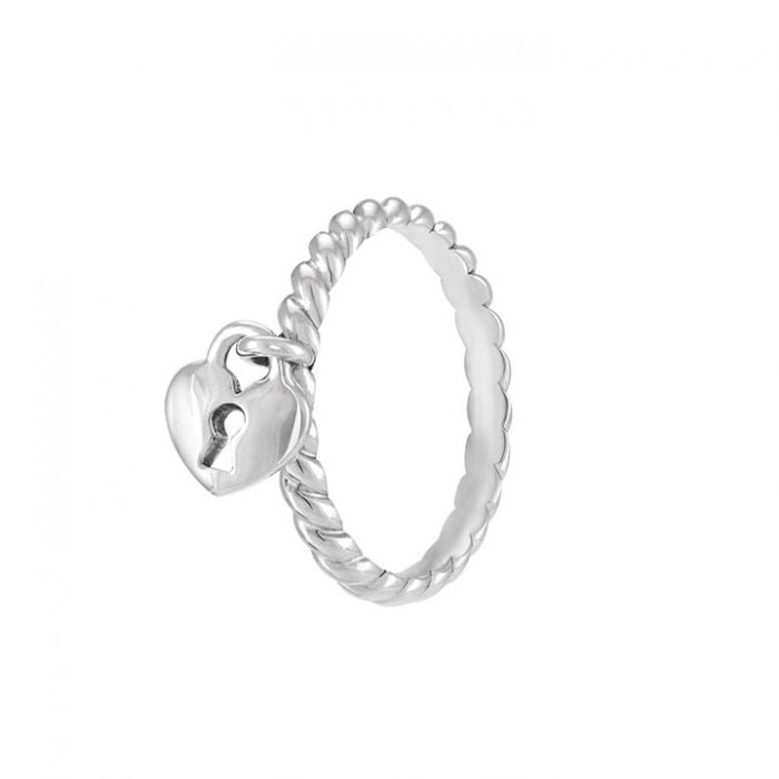 Heartlock Ring