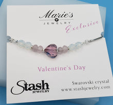 Load image into Gallery viewer, Stash Marie's Exclusive Valentine's Day Slider Bracelet