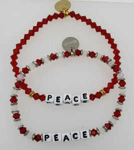 "Little Words Project ""Peace"" Bracelet"
