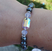Load image into Gallery viewer, Stash Adrian with Swarovski Crystal and Hematite Bracelet