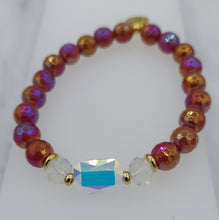 Load image into Gallery viewer, Stash Adrian with Swarovski Crystal Carnelian Bracelet