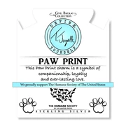 Load image into Gallery viewer, TJazelle Paw Print Charm Bracelet