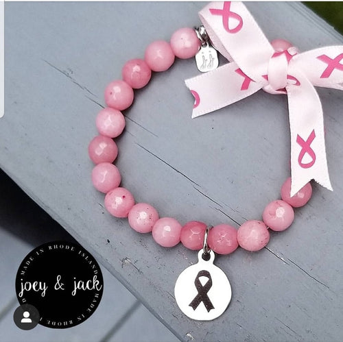 Joey and Jack Breast Cancer Awareness Bracelet