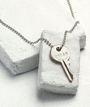 Load image into Gallery viewer, Classic Ball Chain Key Necklace