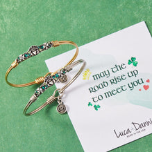 Load image into Gallery viewer, Irish Medley Bangle Bracelet