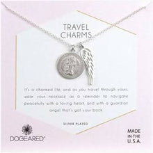 Load image into Gallery viewer, Dogeared Travel Charms Necklace