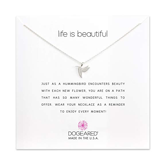 Dogeared Hummingbird Necklace