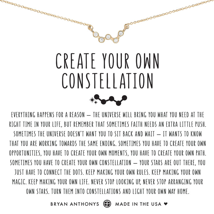 Create Your Own Constellation Necklace