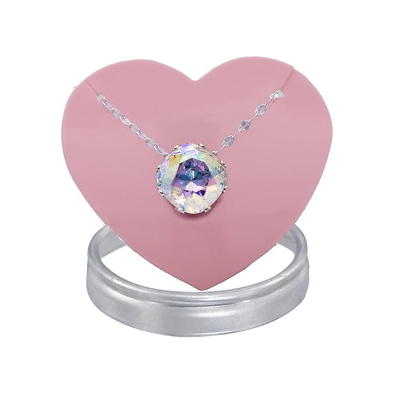 Crystal AB Mega Marina Necklace