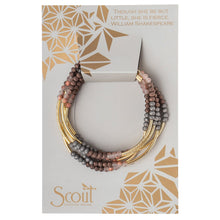 Load image into Gallery viewer, Scout Wrap : Matte Metallic Tri-Tone/Gold