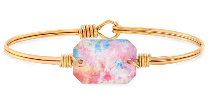 Dylan Bangle Bracelet in Tie Dye
