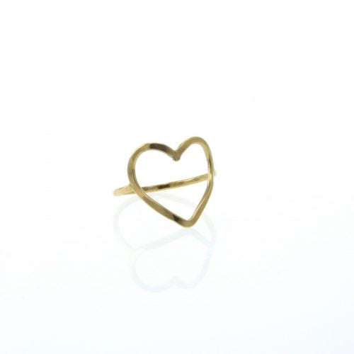 Love Ring - Gold Plated