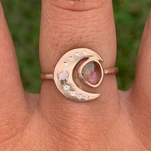 Load image into Gallery viewer, Shimmering Moon Ring - Size 7.5