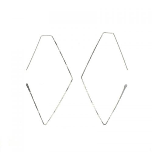 Large Haven Earrings - Sterling Silver
