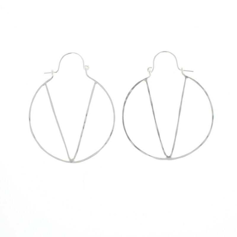 Natalie Hoop Earrings